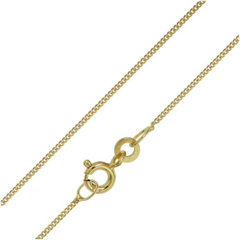 trendor 72023 Halskette für Damen und Herren Gold 333 Panzer