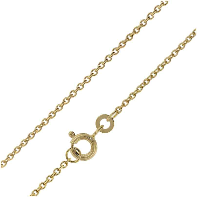 trendor 72047 Halskette für Damen und Herren Gold 333 Ankermuster