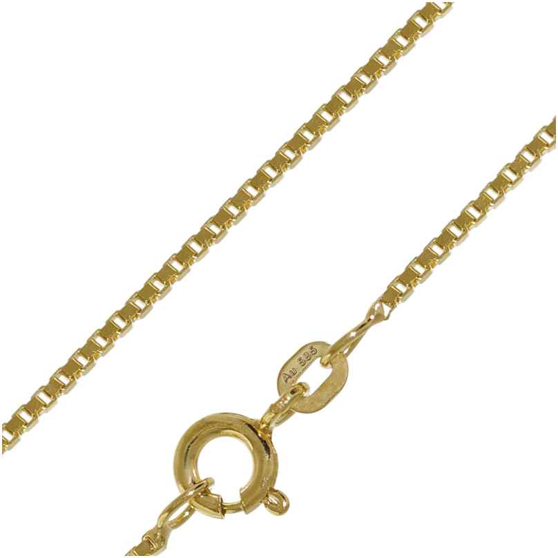 trendor 50927 Necklace 585 Gold Box Chain