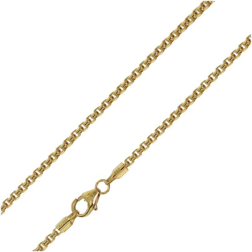 trendor 75166 Halskette für Anhänger 585 Gold 14 Karat Venezia Breite 2,0 mm