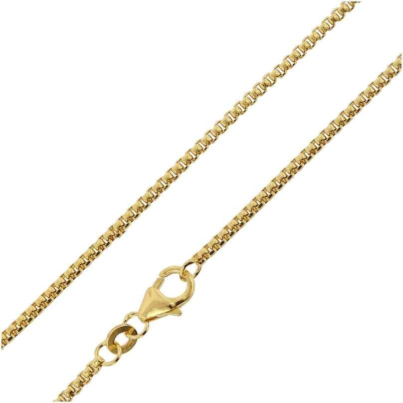 trendor 75240 Venezianer Halskette Gold 333 (8 Karat) Kette für Anhänger