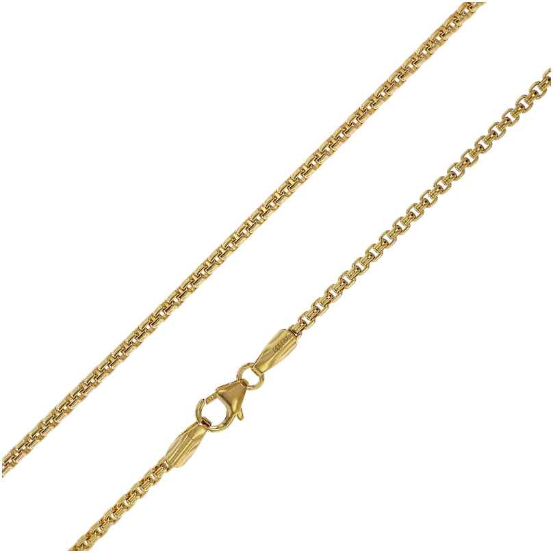 trendor 75301 Halskette für Anhänger Gold 333 (8 Karat) Venezianer Kette 2 mm