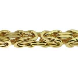 trendor 75310 Königskette Halskette Gold 333 (8 Karat) Breite 2,3 mm