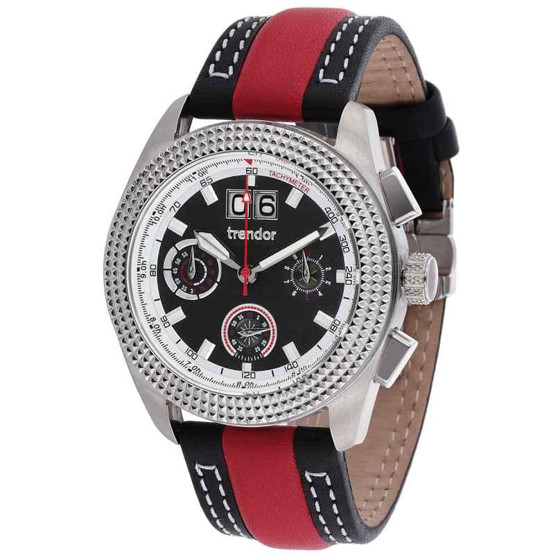 trendor 7637-01 Big Date Chronograph Herrenuhr 4260333976632