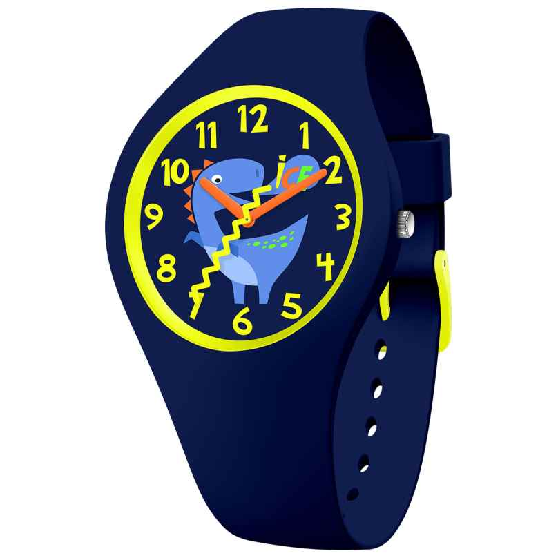 Ice-Watch 017892 Kinder-Armbanduhr ICE fantasia Jurassic Blau Dinosaurier S 4895164096527