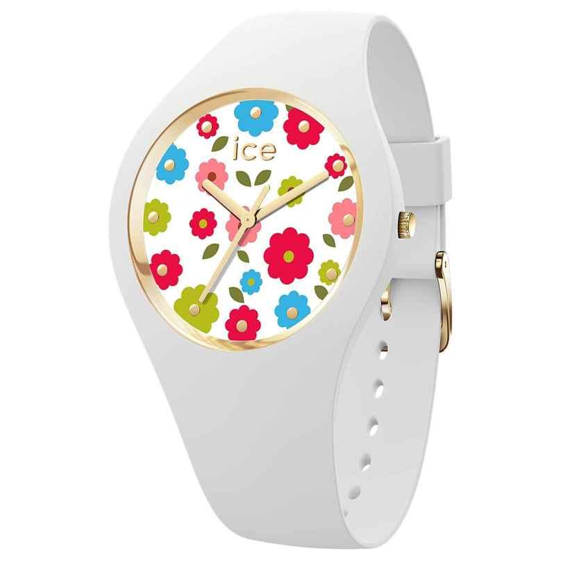 Ice-Watch 017582 Ladies' Wristwatch Flower Power White S 4895164094882