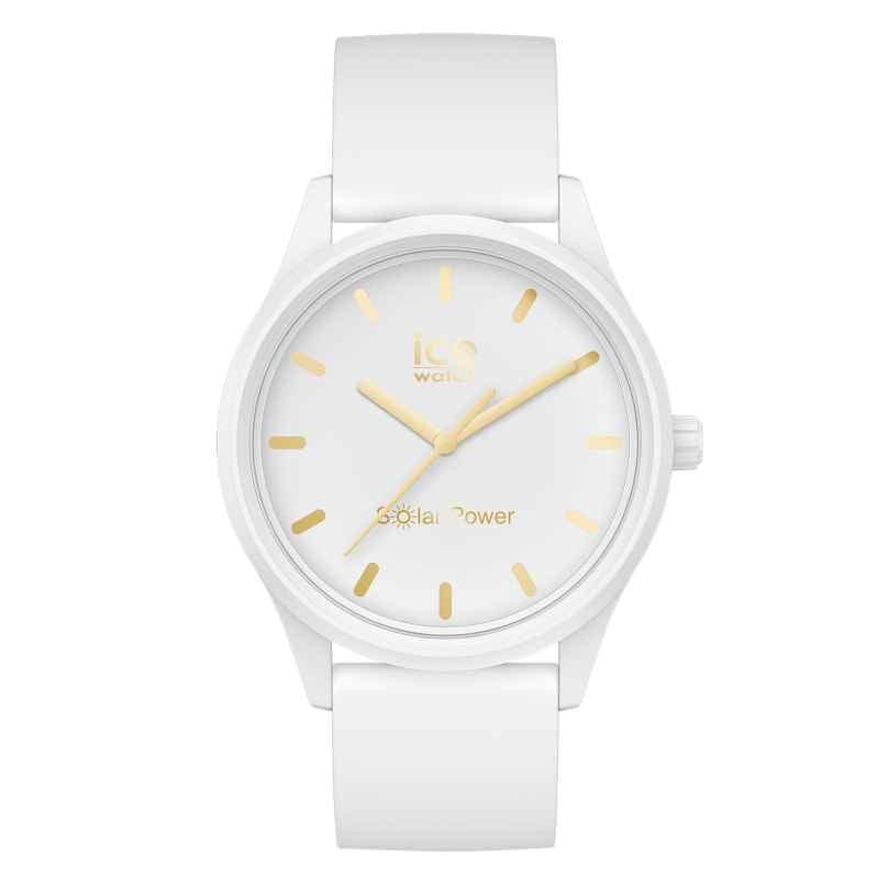 Ice-Watch 018474 Solaruhr S Weiß/Goldfarben 4895164099184