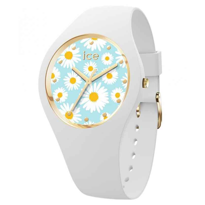 Ice-Watch 019203 Armbanduhr ICE Flower S Weiß/Gänseblümchen 4895173302428
