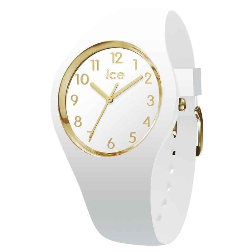 Ice-Watch 015339 Damenarmbanduhr Glam weiß/gold M 4895164082063