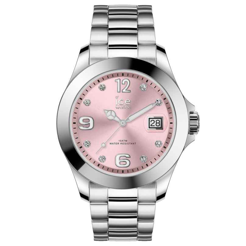 Ice-Watch 016776 Ladies Watch Ice Steel Light Pink M 4895164090020