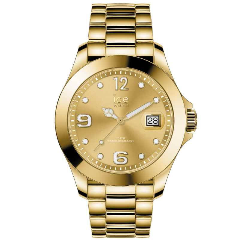 Ice-Watch 016777 Damen-Armbanduhr Ice Steel Gold Shiny M 4895164090037
