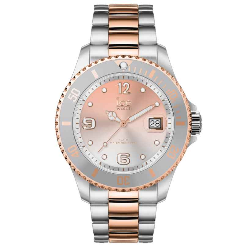 Ice-Watch 016769 Damenuhr Ice Steel Silver Sunset Rose-Gold M 4895164089956