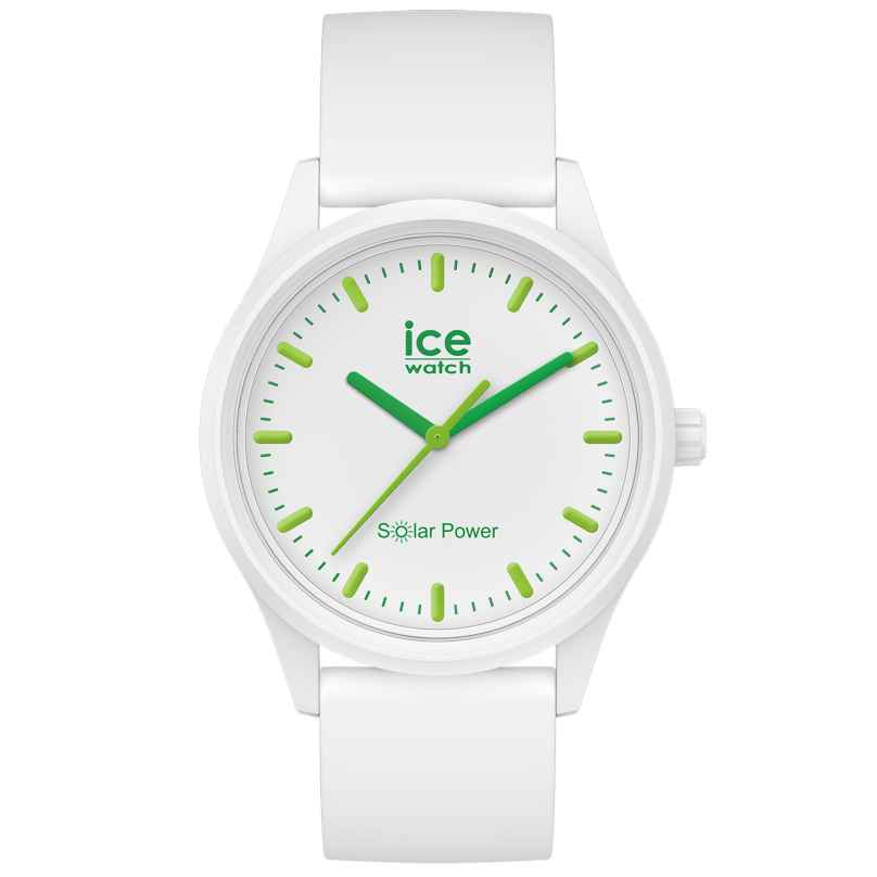 Ice-Watch 017762 Solaruhr Nature M Weiß / Grün 4895164095735