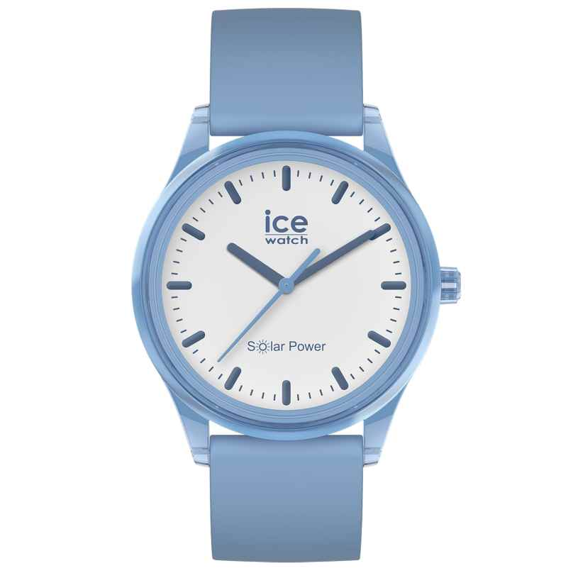 Ice-Watch 017768 Solar-Armbanduhr Rain M Hellblau 4895164095797