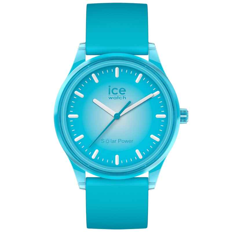 Ice-Watch 017769 Armbanduhr Solar Blue Planet M Türkis 4895164095803