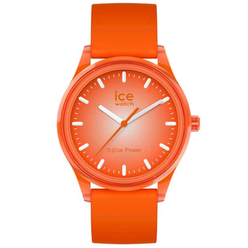 Ice-Watch 017771 Solaruhr Sunlight M Orange 4895164095827