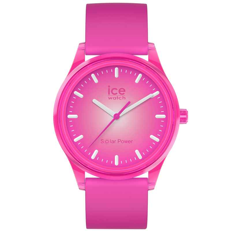 Ice-Watch 017772 Solar-Armbanduhr Indian Summer M Pink 4895164095834