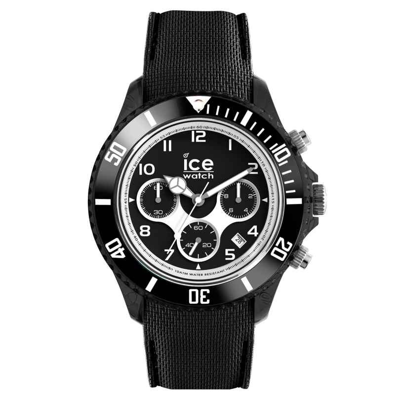 Ice-Watch 014222 Herren-Chronograph Ice Dune Schwarz XL 4895164074303