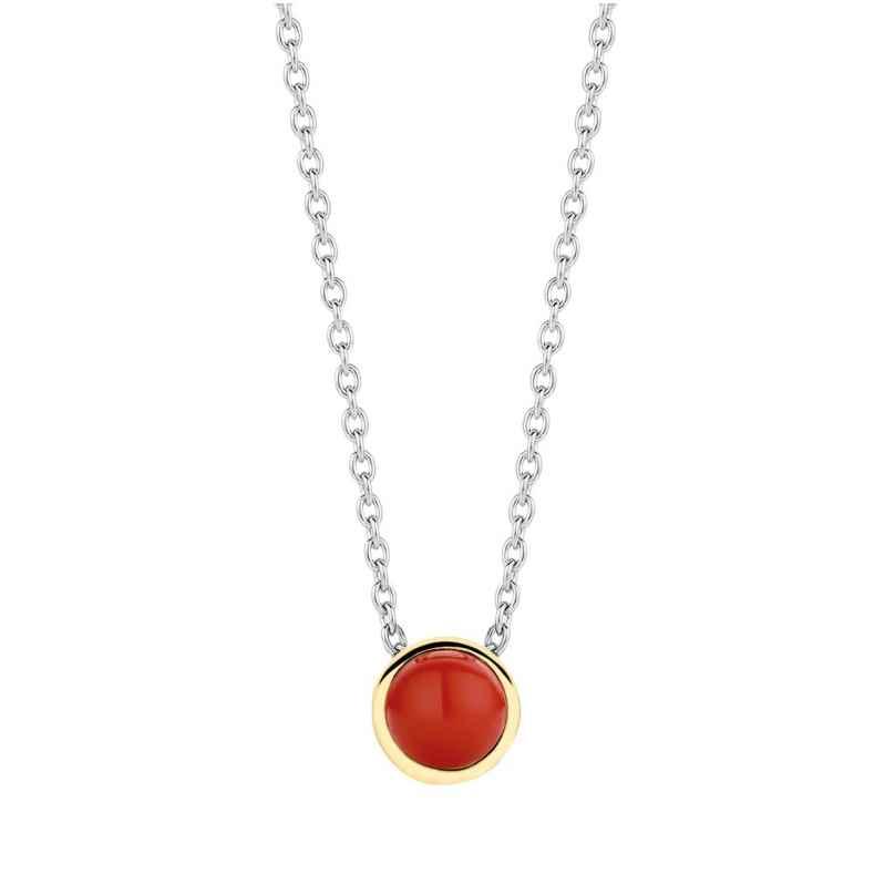 Ti Sento 3845CR Ladies' Necklace Silver Red 8717828214473