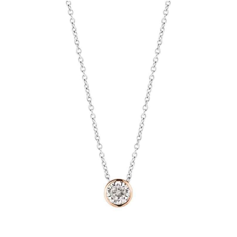 Ti Sento 3845ZR Silber-Halskette für Damen 8717828207338