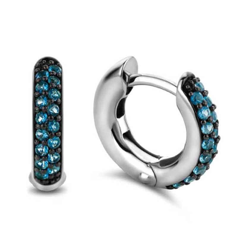 Ti Sento 7210DB Ladies' Earrings Silver Blue 8717828220757