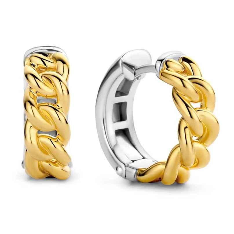 Ti Sento 7832SY Creolen für Damen 925 Silber Vergoldet 8717828227732