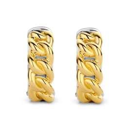 Ti Sento 7832SY Creolen für Damen 925 Silber Vergoldet