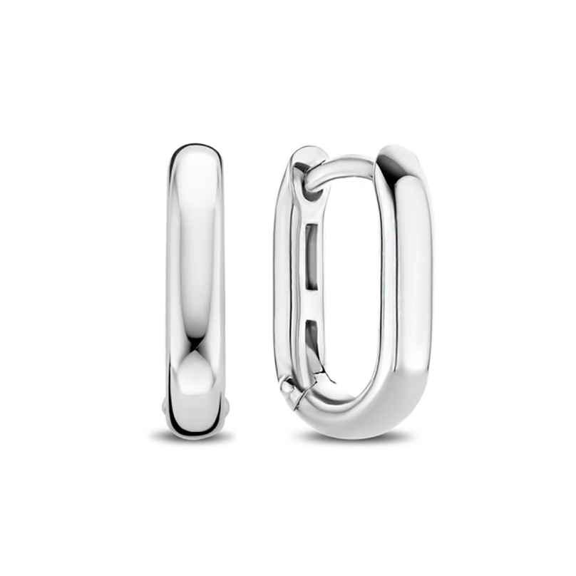 Ti Sento 7845SI Ladies' Hoop Earrings Silver 8717828232750