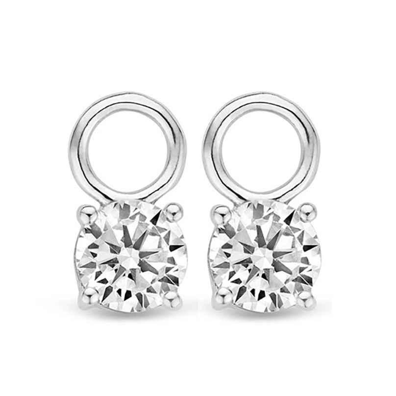 Ti Sento 9142ZI Earring Pendants White Cubic Zirconia 8717828071250