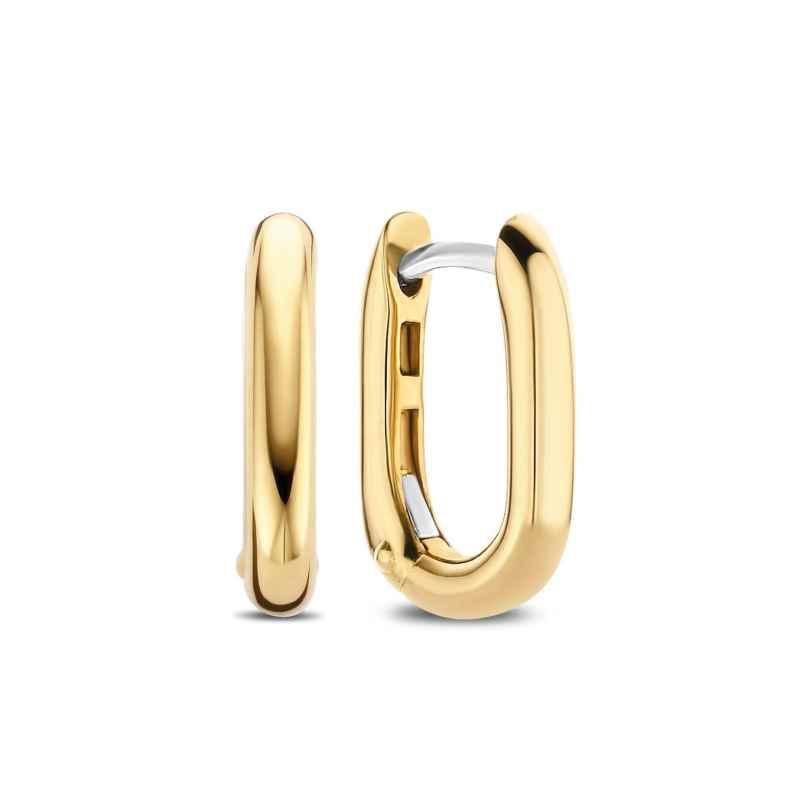 Ti Sento 7845SY Ladies' Hoop Earrings Gold Tone 8717828233726