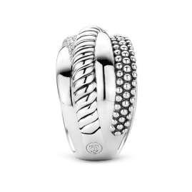 Ti Sento 12003ZI Ladies' Ring Silver