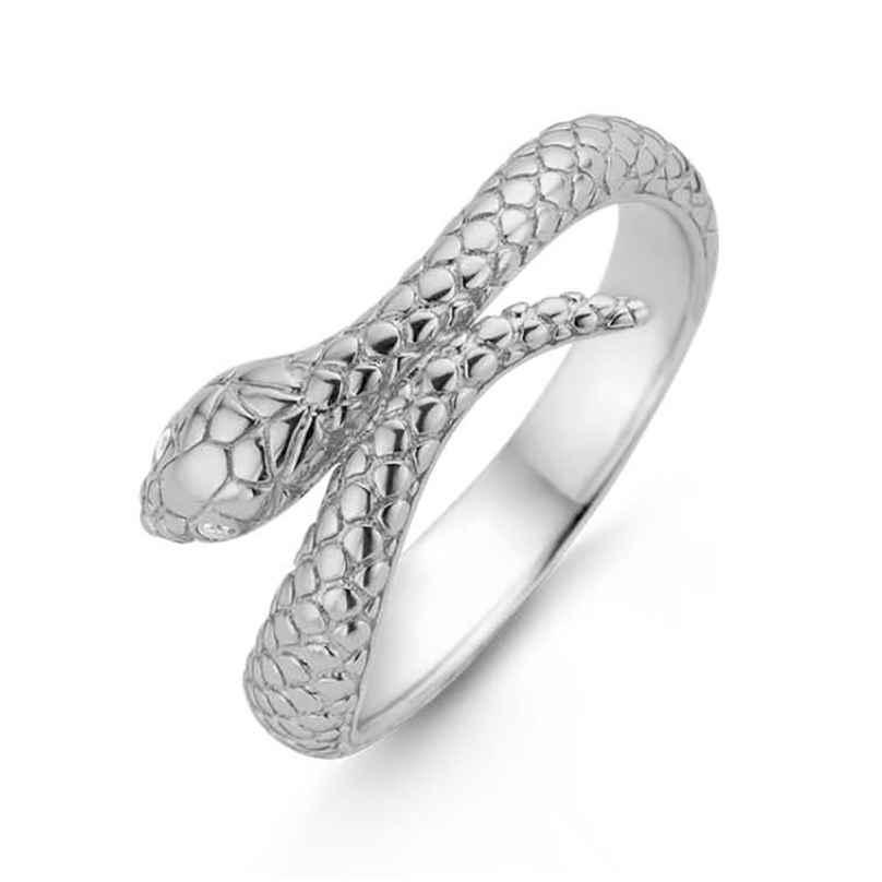 Ti Sento 12160SI Ladies' Ring Snake Silver