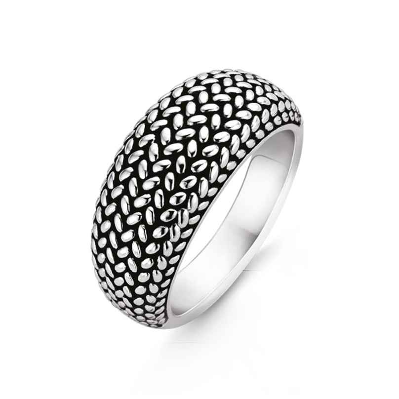 Ti Sento 12161SI Ladies' Ring Silver braided