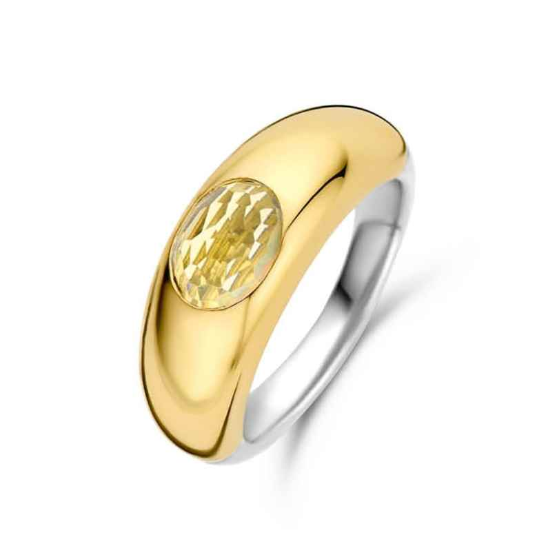 Ti Sento 12173TY Women's Ring Gold-Plated Silver