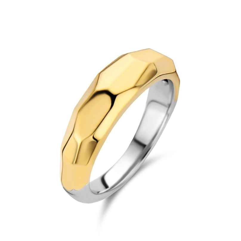 Ti Sento 12201SY Women's Ring Gold-Plated Silver