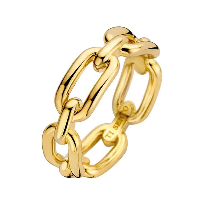 Ti Sento 12205SY Women's Ring gold-plated Silver