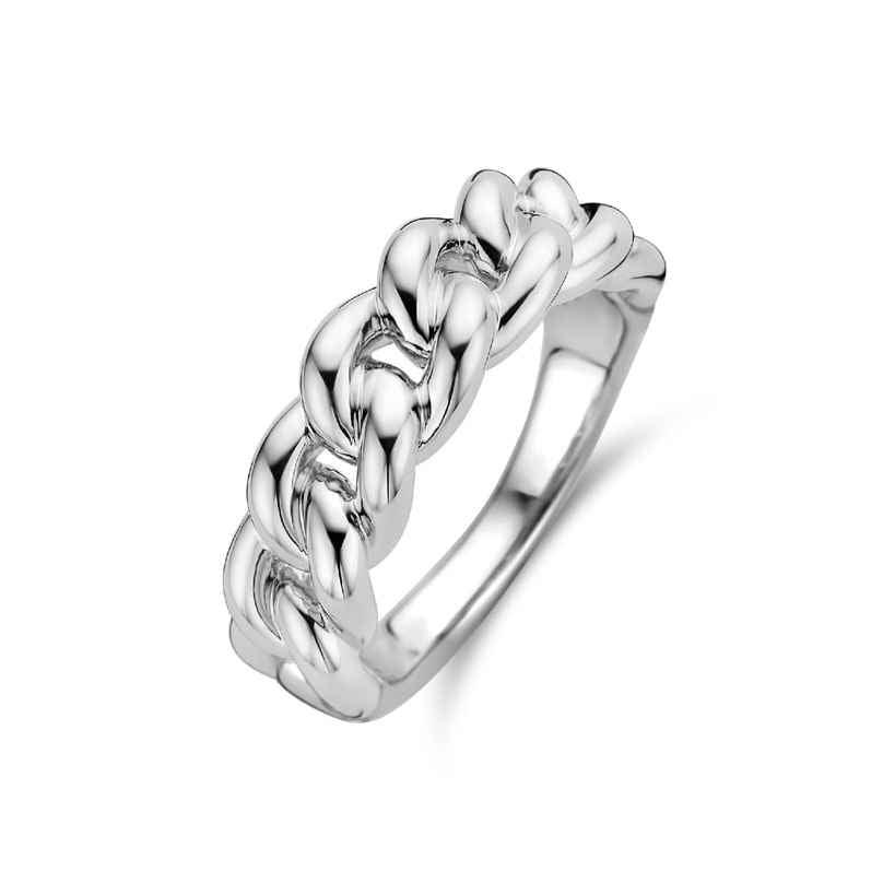 Ti Sento 12209SI Ladies' Chain Ring Silver