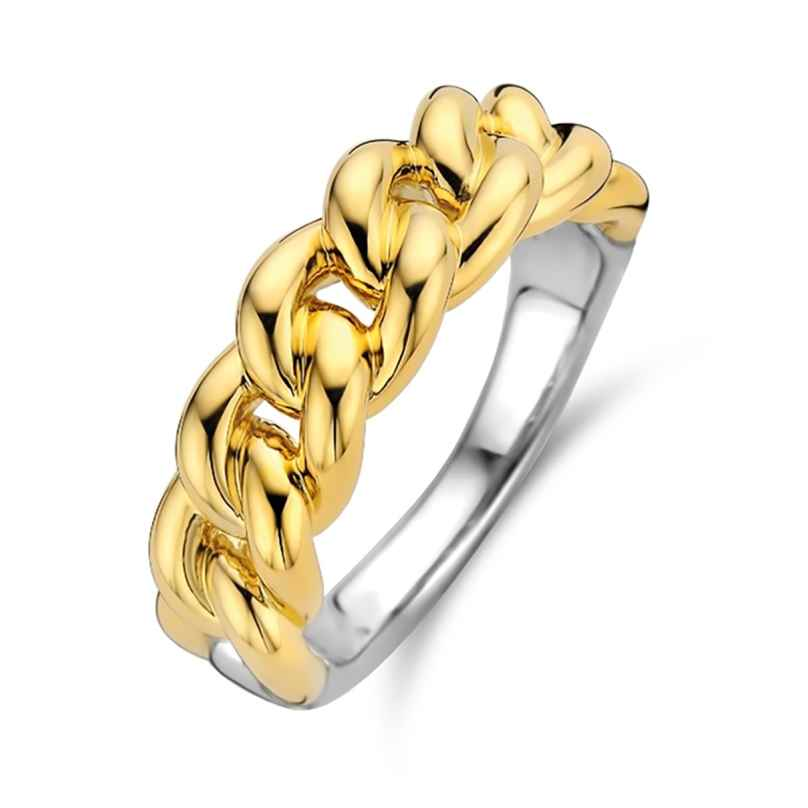 Ti Sento 12209SY Women's Chain Ring Gold-Plated Silver