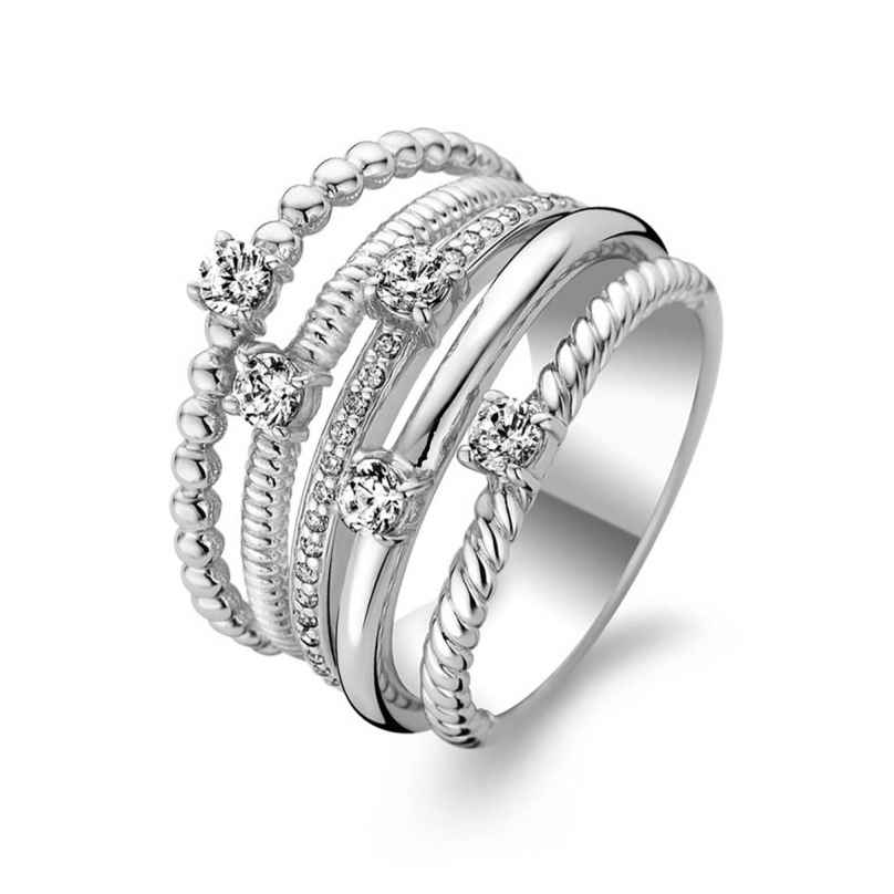 Ti Sento 1863ZI Ladies' Ring Silver with Cubic Zirconia