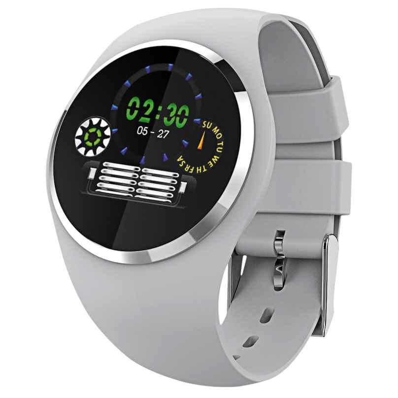 Atlanta 9703/4 Smartwatch mit Touchdisplay Hellgrau 4026934970345