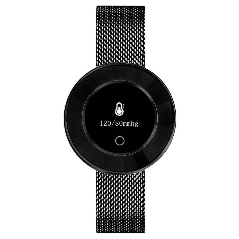 Atlanta 9705/7 Smartwatch with Touch Display Black 4026934970574