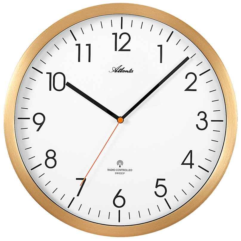 Atlanta 4382/9 Radio Controlled Wall Clock 4026934438296