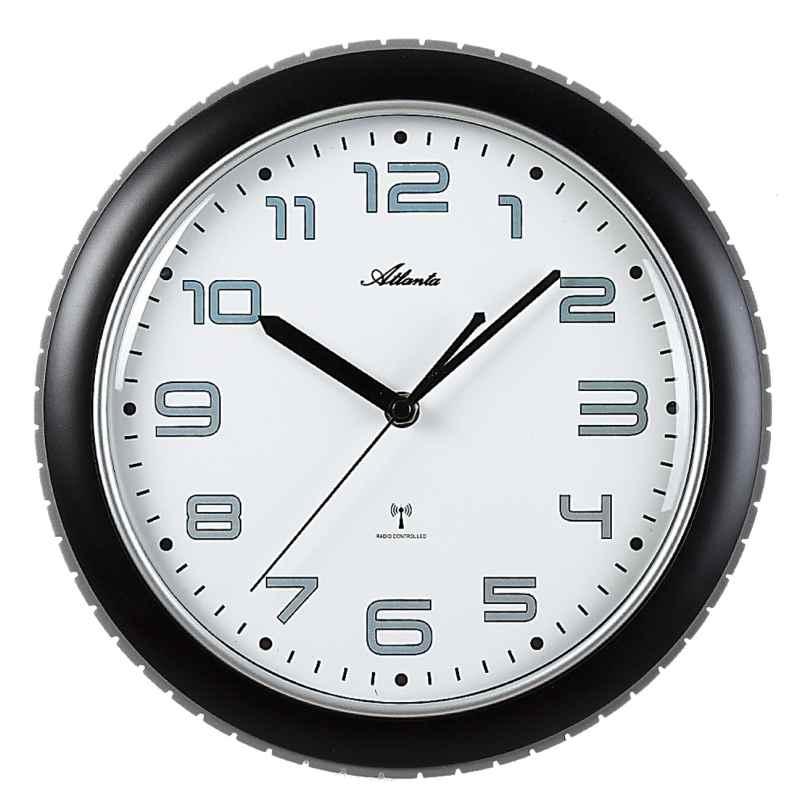 Atlanta 4387/7 Radio-Controlled Wall Clock 4026934438777