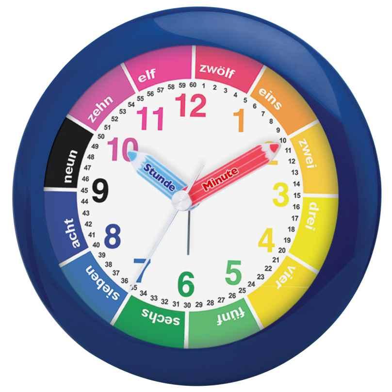 Atlanta 1265/5 Childrens Alarm Clock Blue 4026934126551
