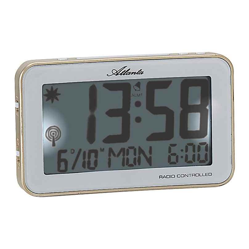 Atlanta 1804/9 Radio-Controlled Alarm Clock 4026934180492