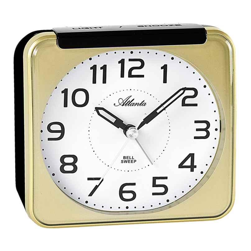 Atlanta 1955/9 Alarm Clock with Bell Sound 4026934195595