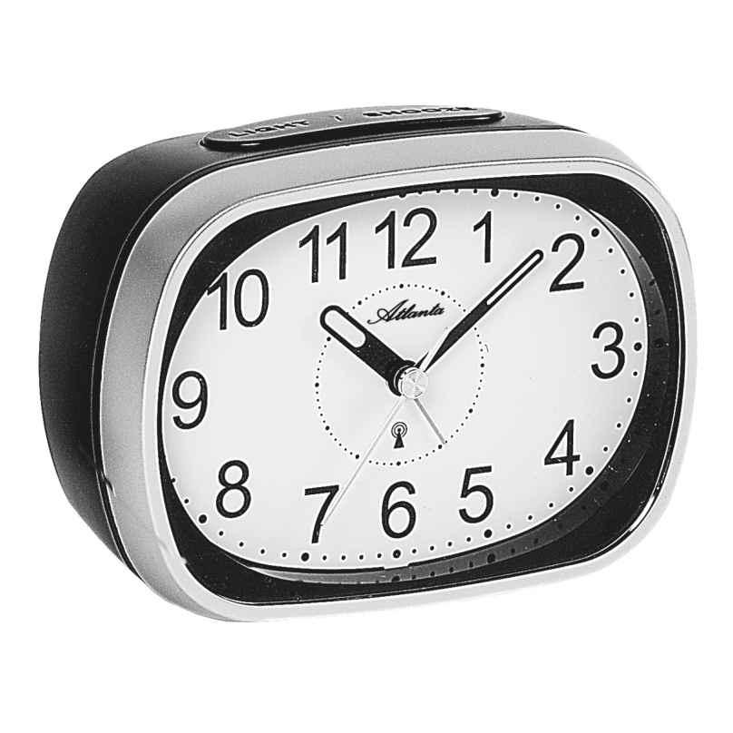 Atlanta 1793/19 Radio-Controlled Alarm Clock with Bell Signal 4026934179311