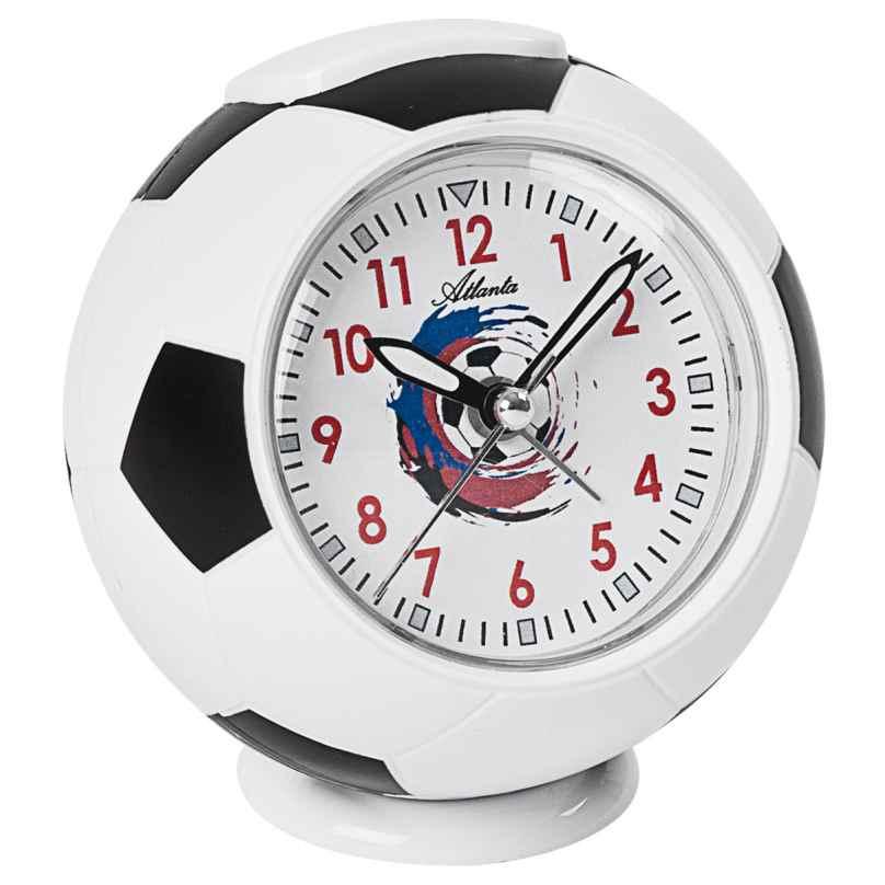 Atlanta 1195 Fußball-Wecker für Kinder 4026934119508