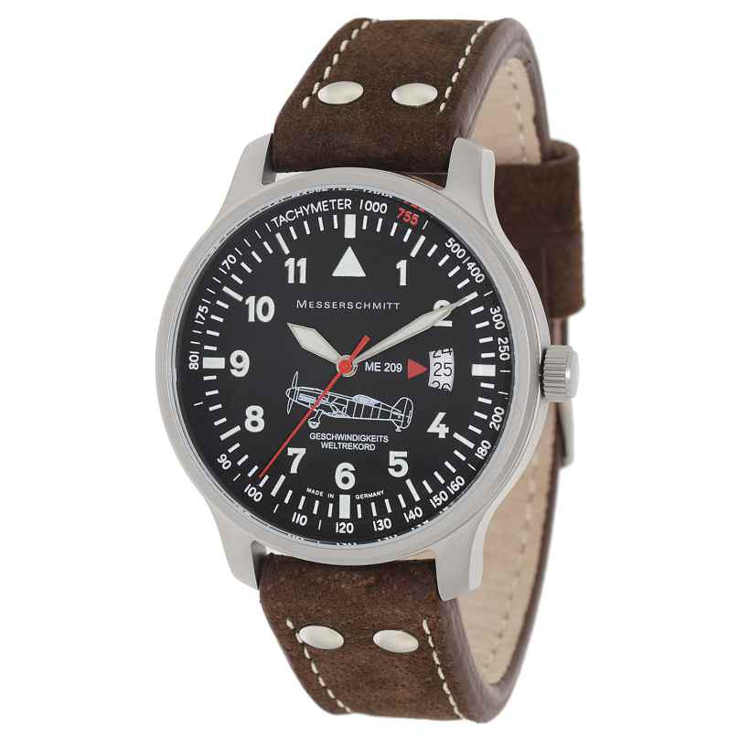 Messerschmitt ME-209 Fliegeruhr für Herren 4260186270383