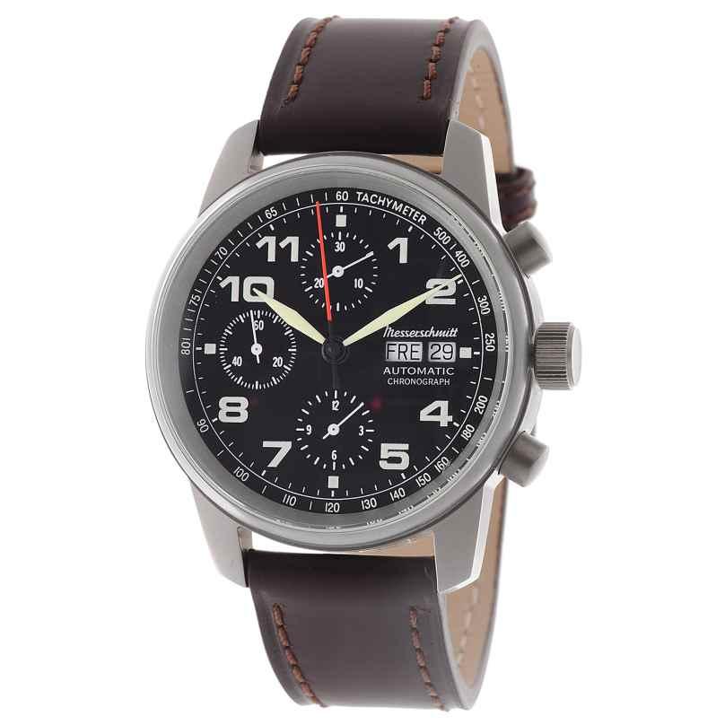 Messerschmitt ME-3H129 Herren-Automatikuhr Flieger-Chronograph 4260186263361